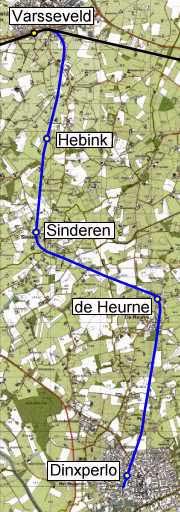 trajectkaart
