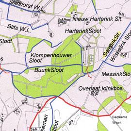 Werkkaart Waterschap 2005