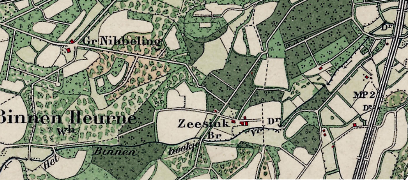 Kaart 1914